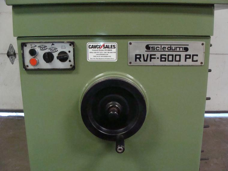 A nice reconditioned Scledum Flywheel Grinder, 230v, 3ph